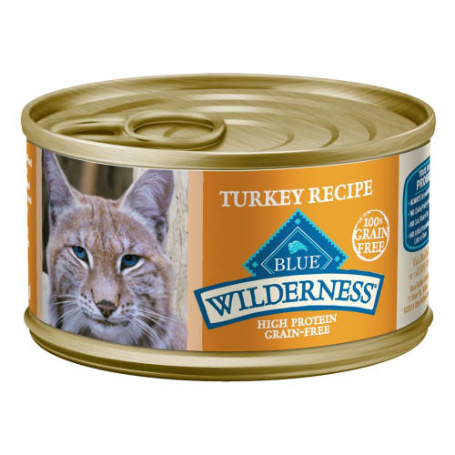 Blue Buffalo - Wilderness Turkey Recipe Grain-Free Canned Cat Food