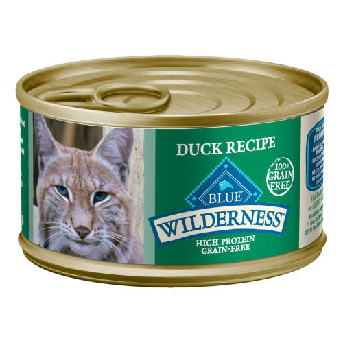 Blue Buffalo - Wilderness Duck Recipe Grain-Free Canned Cat Food