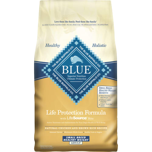 Blue Buffalo - Life Protection Formula Small Breed Healthy Weight Chicken & Brown Rice Recipe Dry Dog Food