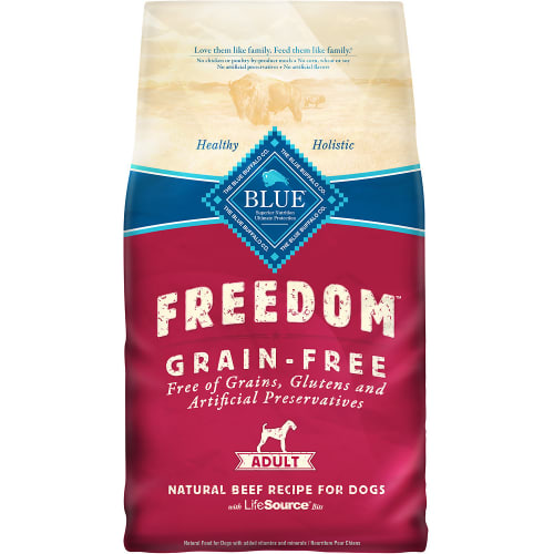 Blue Buffalo - Freedom Beef Recipe Grain-Free Dry Dog Food, 24lb
