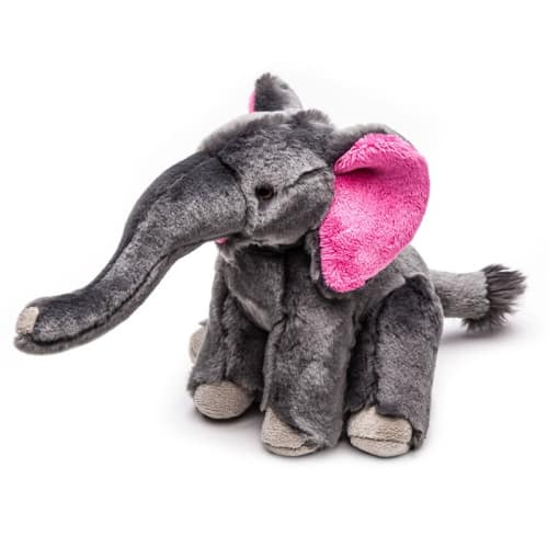 Fluff & Tuff - Edsel Elephant Durable & Ultra Plush Dog Toy, 10in