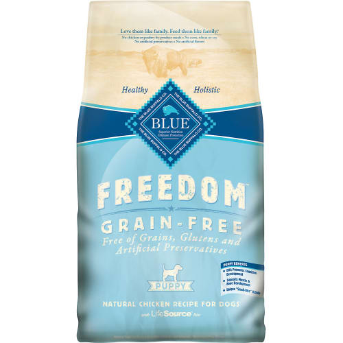 Blue Buffalo - Freedom Puppy Chicken Recipe Grain-Free Dry Dog Food, 24lb