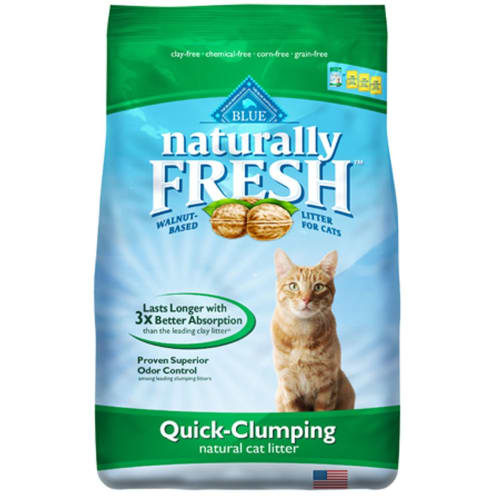 Blue Buffalo - Naturally Fresh Walnut-Based Quick-Clumping Cat Litter, 26lb
