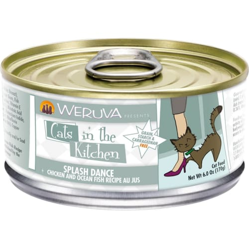 Weruva - Cats In The Kitchen Splash Dance Grain-Free Canned Cat Food