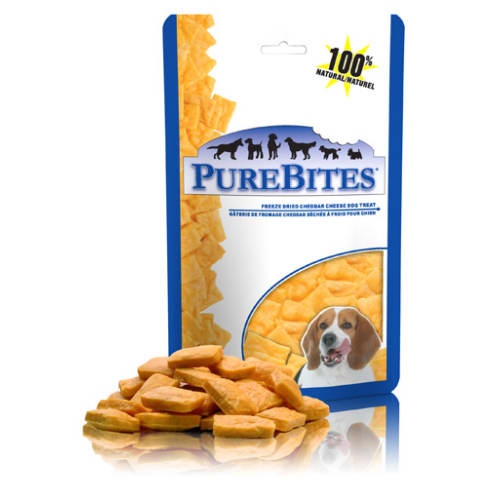 PureBites - Freeze-Dried Cheddar Cheese Grain-Free Dog Treats