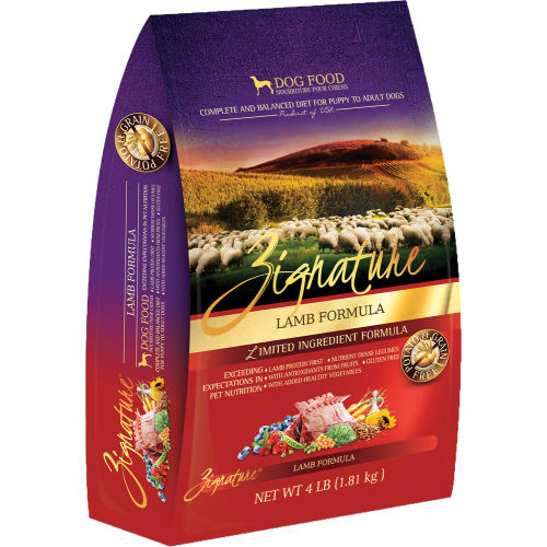 Zignature - Limited Ingredient Lamb Formula Grain-Free Dry Dog Food