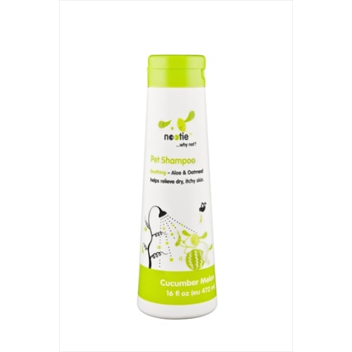 Nootie - Cucumber Melon Aloe & Oatmeal Itchy, Dry Skin Relief Pet Shampoo