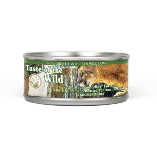 Taste Of The Wild - Rocky Mountain Feline Formula Grain-Free Canned Cat Food