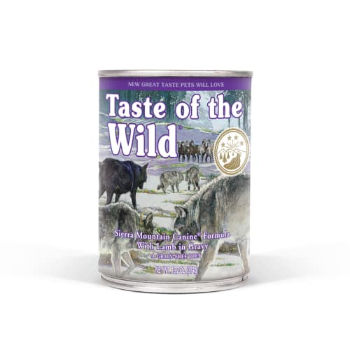 Taste Of The Wild - Sierra Mountain Formula Grain-Free Canned Dog Food