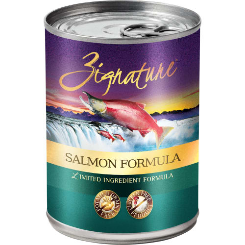 Zignature - Limited Ingredient Salmon Formula Grain-Free Canned Dog Food