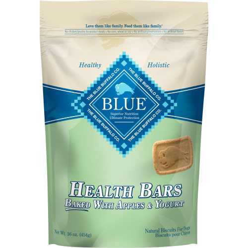 Blue Buffalo - Health Bars Baked With Apples & Yogurt Dog Treats, 16oz