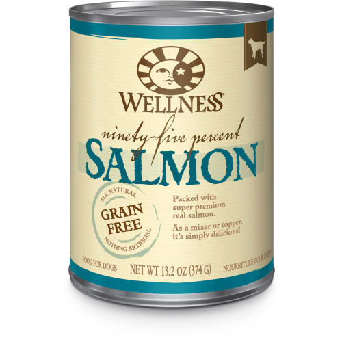 Wellness - 95% Salmon Grain-Free Canned Dog Food