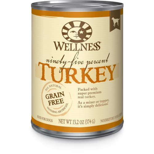 Wellness - 95% Turkey Grain-Free Canned Dog Food