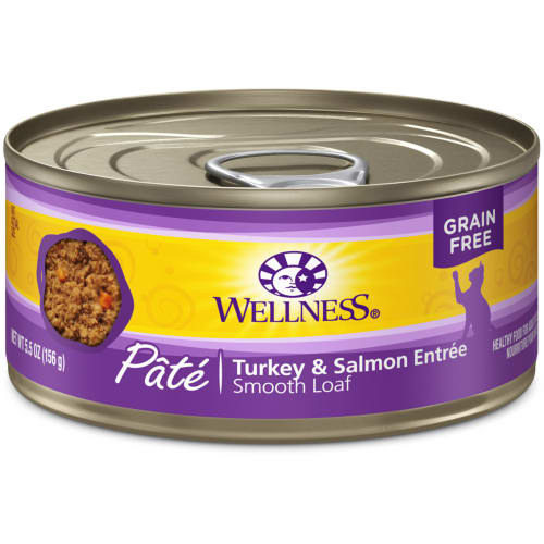 Wellness - Turkey & Salmon Entree Grain-Free Canned Cat Food