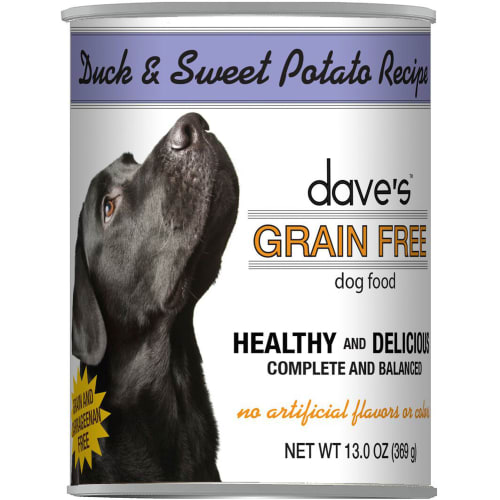 Dave's Pet Food - Duck & Sweet Potato Grain-Free Canned Dog Food