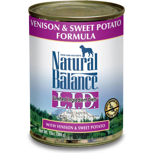 Natural Balance - Limited Ingredient Diets Venison & Sweet Potato Formula Grain-Free Canned Dog Food