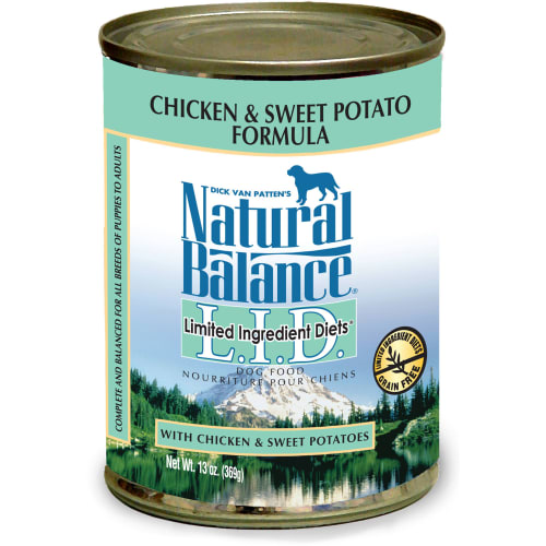 Natural Balance - Limited Ingredients Diets Chicken & Sweet Potato Formula Grain-Free Canned Dog Food