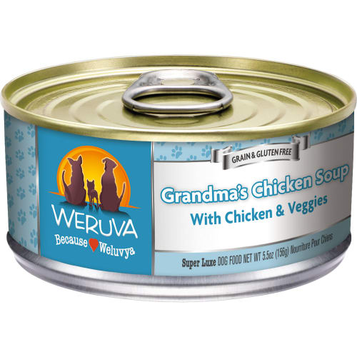 Weruva - Grandma's Chicken Soup Grain-Free Canned Dog Food