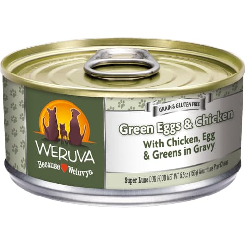 Weruva - Green Eggs & Chicken Grain-Free Canned Dog Food
