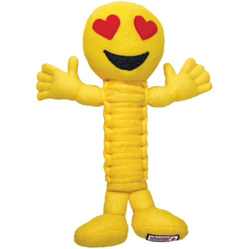 Kong - Bendeez Emojis Loveez Dog Toy