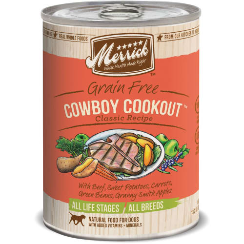 Merrick - Cowboy Cookout Classic Recipe Grain-Free Canned Dog Food