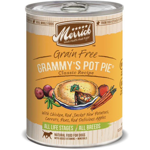 Merrick - Classic Grain Free Grammy's Pot Pie Classic Recipe Grain-Free Canned Dog Food