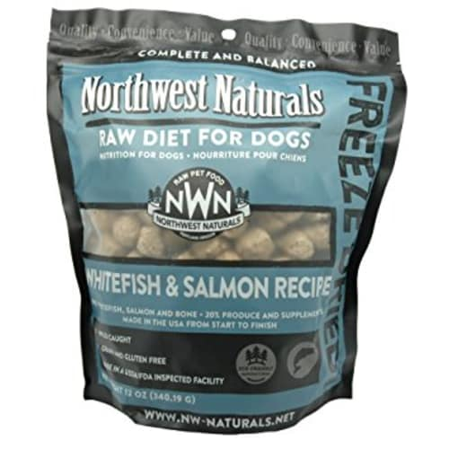 Northwest Naturals - Whitefish & Salmon Freeze Dried Nuggets, 12oz