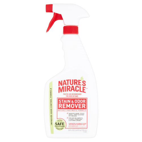 Nature's Miracle - Stain And Odor Remover Spray Bottle, 24oz