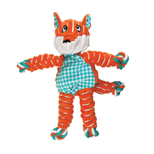 Kong - Floppy Knots Fox Dog Toy, Small/Medium