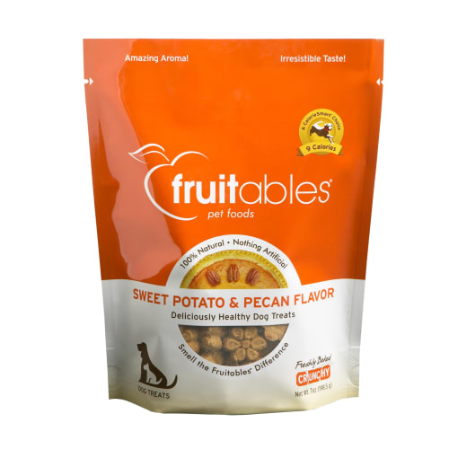 Fruitables - Sweet Potato & Pecan Crunchy Dog Treats, 7oz