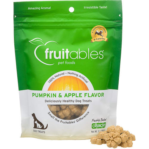 Fruitables - Pumpkin & Apple Natural Dog Biscuits, 7oz