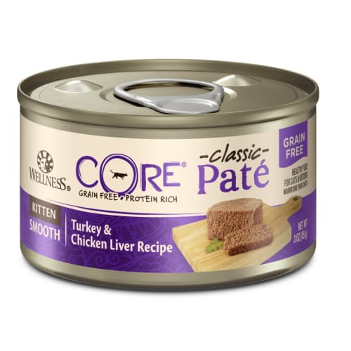 Wellness - Core Grain-Free Turkey & Chicken Liver Canned Kitten Food, 5.5oz