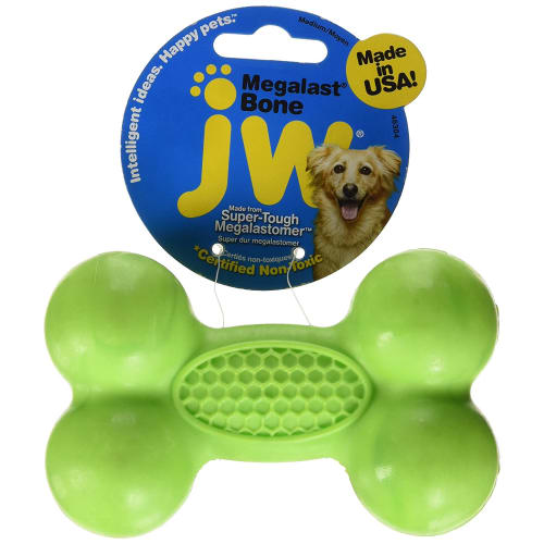 JW - Megalast Bone Dog Toy, Medium