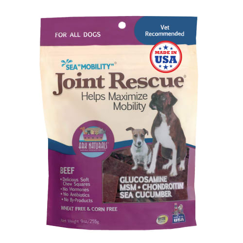 Ark Naturals - Sea Mobility Joint Rescue Beef Dog Treat, 9oz
