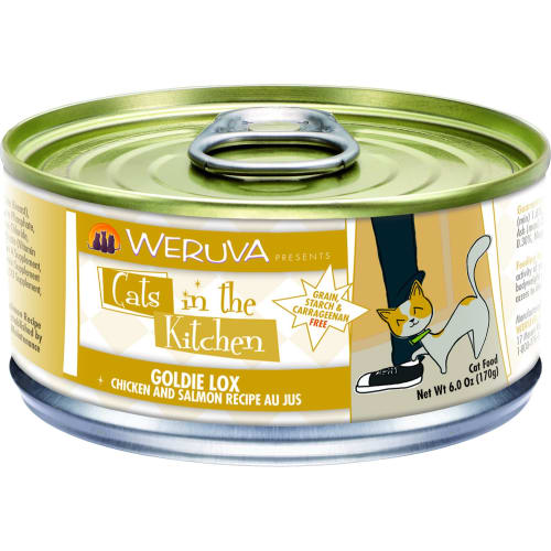 Weruva - Cats In The Kitchen Goldie Lox Chicken & Salmon Canned Cat Food