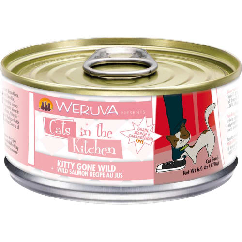 Weruva - Cats In The Kitchen Kitty Gone Wild Salmon Canned Cat Food
