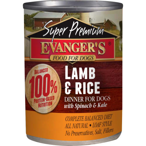 Evanger's - Super Premium Lamb & Rice Dinner Grain-Free Canned Dog Food