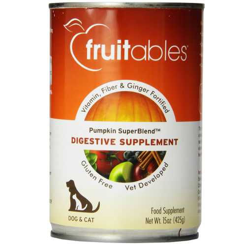 Fruitables - Pumpkin SuperBlend Digestive Grain-Free Canned Pet Food Supplement