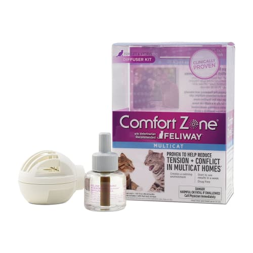 Comfort Zone With Feliway For Cats Diffuser Kit