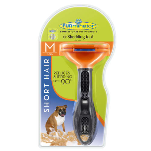 Furminator - Deshedder Short Hair Dog, Medium