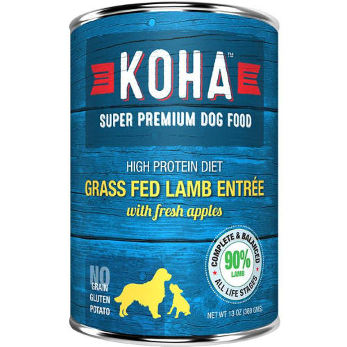 Koha - High Protein Limited Ingredient Diet Lamb Entree Canned Dog Food, 13oz