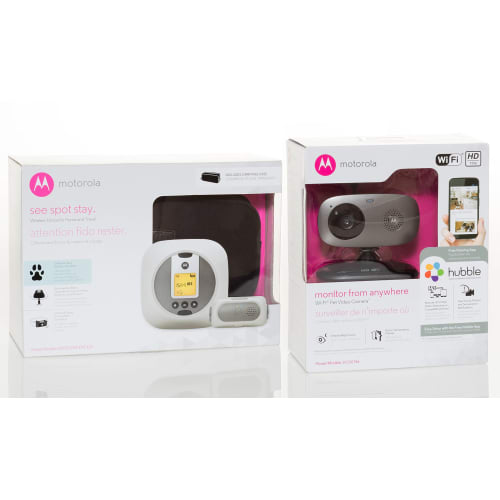 Motorola Wireless Camera & Wireless Fence Bundle