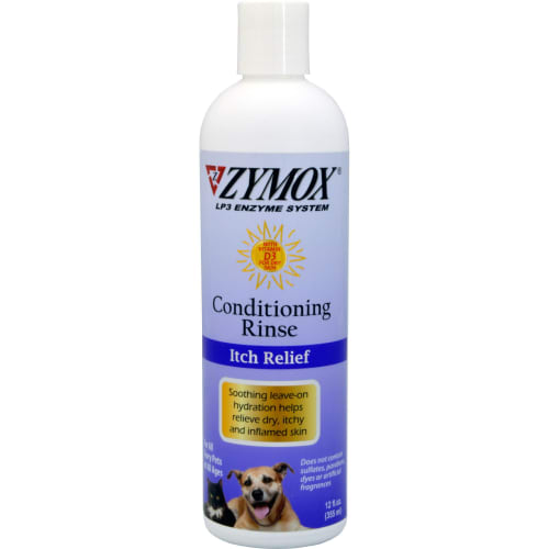 Zymox - Itch Relief Enzyme Conditioning Rinse With Vitamin D3, 12oz
