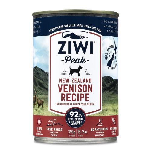 Ziwi Peak - Venison Recipe Canned Dog Food, 13.75oz