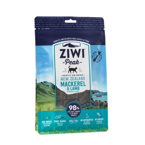 Ziwi Peak - Air-Dried Mackerel & Lamb Cat Food, 14oz