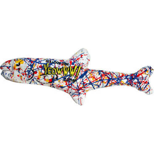 Yeowww! - Catnip Pollock Fish Cat Toy