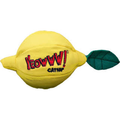 Yeowww! - Catnip Sour Pusss! Lemon Cat Toy