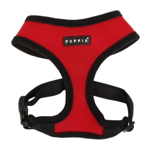 Puppia - Soft Harness Red