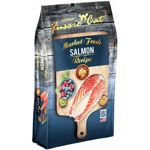 Fussie Cat - Market Fresh Salmon Recipe Dry Cat Food