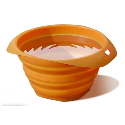 Kurgo - Collaps-a-Bowl Pet Travel Bowl - Orange